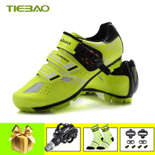 Tiebao Cycling shoes sapatilha ciclismo mtb Bike sneakers SPD bicycle pedals Self-locking women mountain bike superstar shoes
