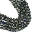 YHBZRET натуральный камень большой граненый Феникс Лапис 8 мм 44 шт свободные бусины для самостоятельного изготовления ювелирных изделий Брасл...