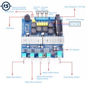TPA3116 stéréo 2.1 HIFI Subwoofer Module amplificateur numérique Audio lecteur double canal 50W + 50W + 100W