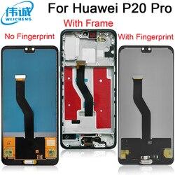 TFT ЖК-дисплей для Huawei P20 Pro ЖК-дисплей  сенсорный экран, дигитайзер, для сборки, запасные части для Huawei P20Pro CLT-L04 CLT-L09 CLT-L29