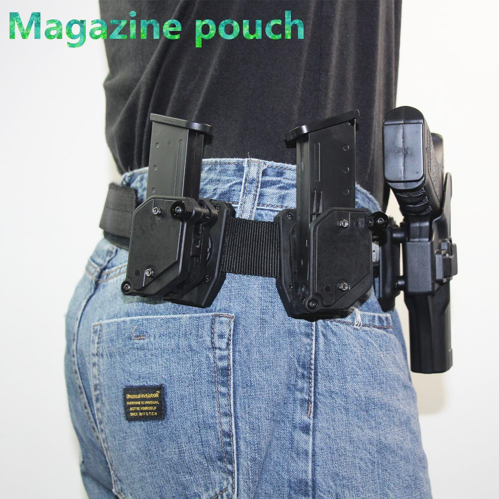 Multi-angle speed Magazine Pouch Adjustment Speed Shooters Pistol Airsoft Gear Holster hunting accessories
