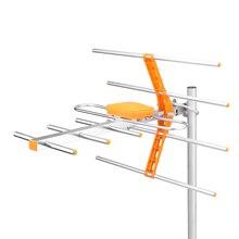 HD cyfrowa antena zewnętrzna TV dla DVBT2 HDTV ISDBT ATSC ADTB T o wysokiej mocy silny sygnał antena zewnętrzna TV długi zasięg dostępu