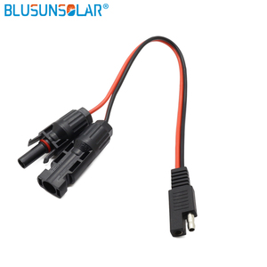 1piece/lot sae connector 2 pin Battery 14AWG DC sae cable Solar panel Trailer sae connector plug Free shipping(China)