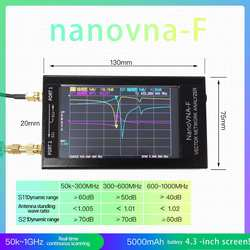 NanoVNA-F векторный сетевой анализатор HF VHF UHF антенный анализатор коротковолновой стоячей волновой стол