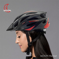 MOON Cycling Helmet EPS Integrally molded Bicycle/Highway Bike Protector 21vent/Hat Corner/Chin Pad Outdoor Sport Bike Helmet 61|Bicycle Helmet| |  -