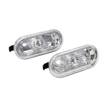 2 x Turning Lampen Side Lights Marker Lichten Voor VW New Beetle 1999-2003 Spatbord Verlichting met Schone lens links & Rechts(China)