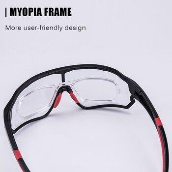 ROCKBROS Cycling Sunglasses  Photochromic Road Bike UV400 Bicycle Eyewear MTB Mountain Bicycle Cycling Goggles 1