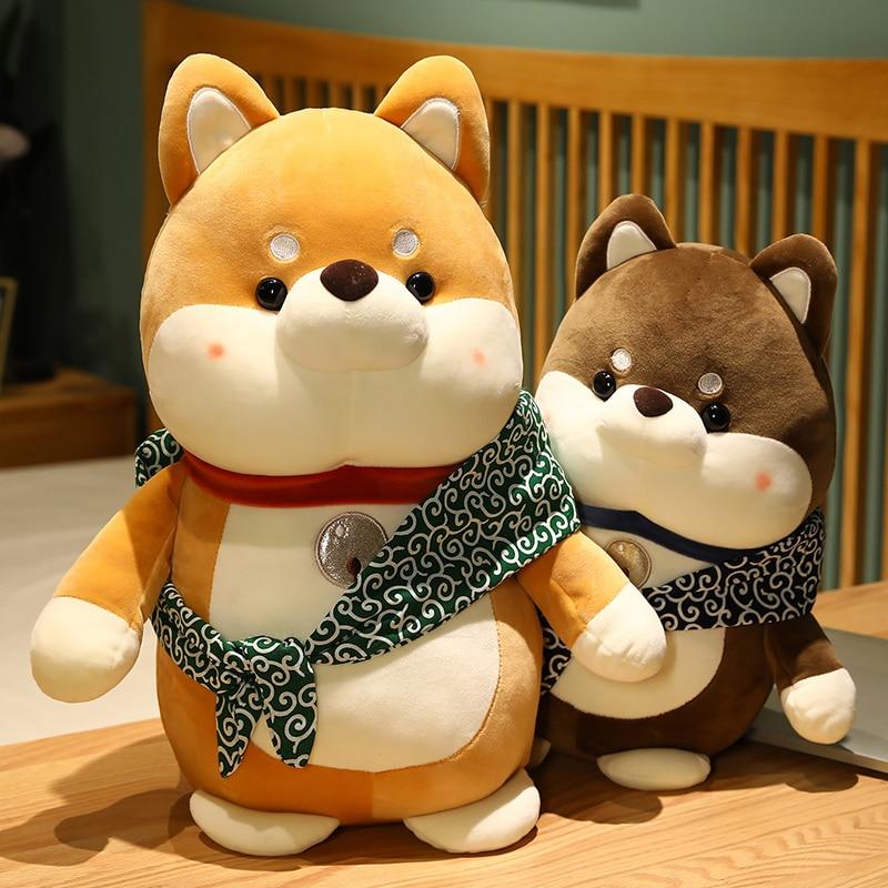 Dog Plush Toys Stuffed Soft Shiba Inu Cartoon Doll Animal Crossing Sleep Cushion Home Decor Birthday Gifts For Girls Kids Just6F