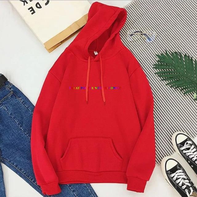 Treat People with Kindness Sweatshirt Streetwear Fashion Tops Letter Pullovers Women 2020 Harry Styles Hoodies Aesthetic 4