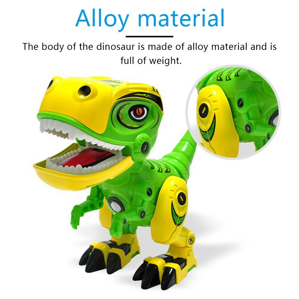Electric Dinosaur Model Dinosaur Electronic Robot Manual Swing Electronic Animal Model 3Years Old Children Interactive Education