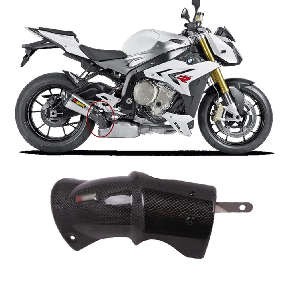 MOTO4U Motorcycle Exhaust Hanger Bracket for BMW S1000R 2017 Motorcycle Accessories Black