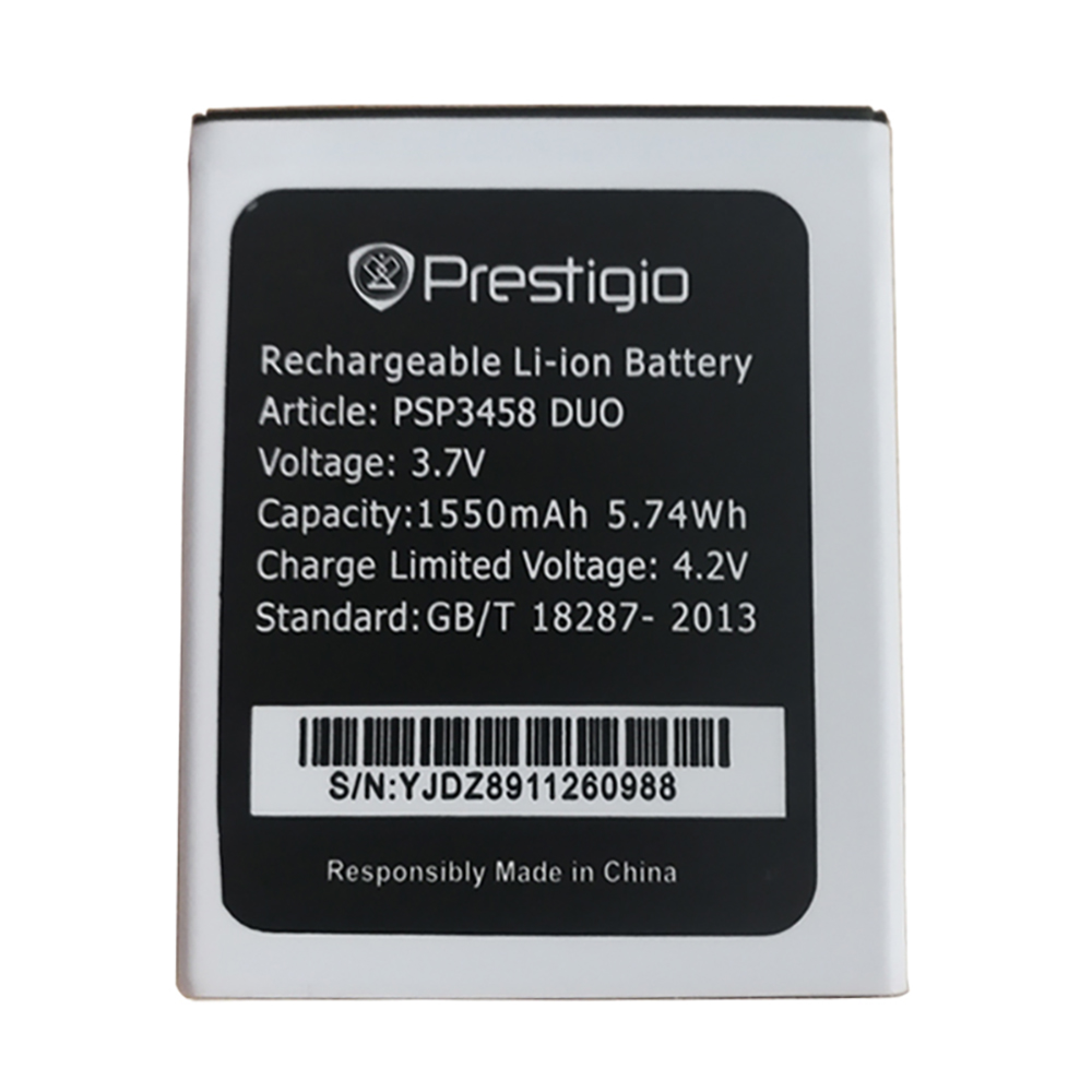 100%NEW 1550mAh PSP3458 Battery for <font><b>Prestigio</b></font> PSP3458 PSP <font><b>3458</b></font> DUO Cellphone + tracking number image