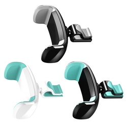 Support Universal Car Mount For Cellphone For iPhone 8X7 Mini Vent Mount Holder 360 Rotation Plastic Cell Phone Holder For Car