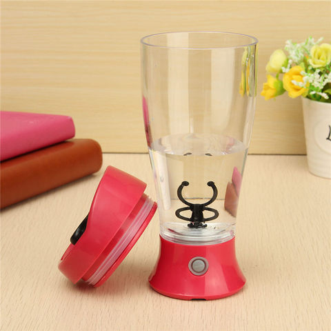 Fitness Sports Water Bottle 350ml Electric Protein Powder Shaker Bottle Coffee Milk Juice Shake Automatic Stir Jar Blender Multan