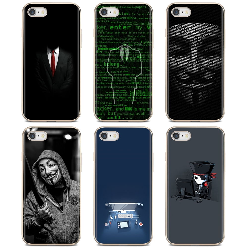 Slim Silicone Soft TPU Phone Case Hackers Wallpapers For Nokia X6 2 3 5 6 8