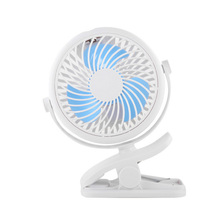 Portable USB Rechargeable Cooling Mini Fan Clip On Desk Baby Stroller 3 Speeds 140*190*42mm High Quality Auto Car Home Mini Fan portable mini clip stroller fan 3 speeds settings flexible bendable usb rechargeable battery operated quiet desk fan for home