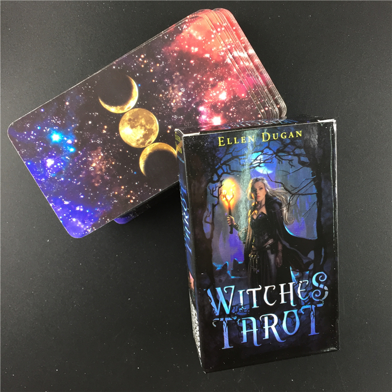 Witch Tarot Deck  Cards Future Fate Indicator Forecasting Cards Gift Table Game Board Game