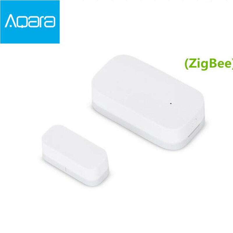 Aqara Door Window Sensor Zigbee Wireless Connection Smart Mini door sensor Work Android IOS App control free ship