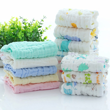 100% Cotton Soft Child-Towel Baby Washcloths for Sensitive Skin Washcloths Household Face Towel Cotton Towels Gauze 100 pcs soft dry cotton wipes maternity baby tissue safe hygiene sensitive skin cleaning towel portable