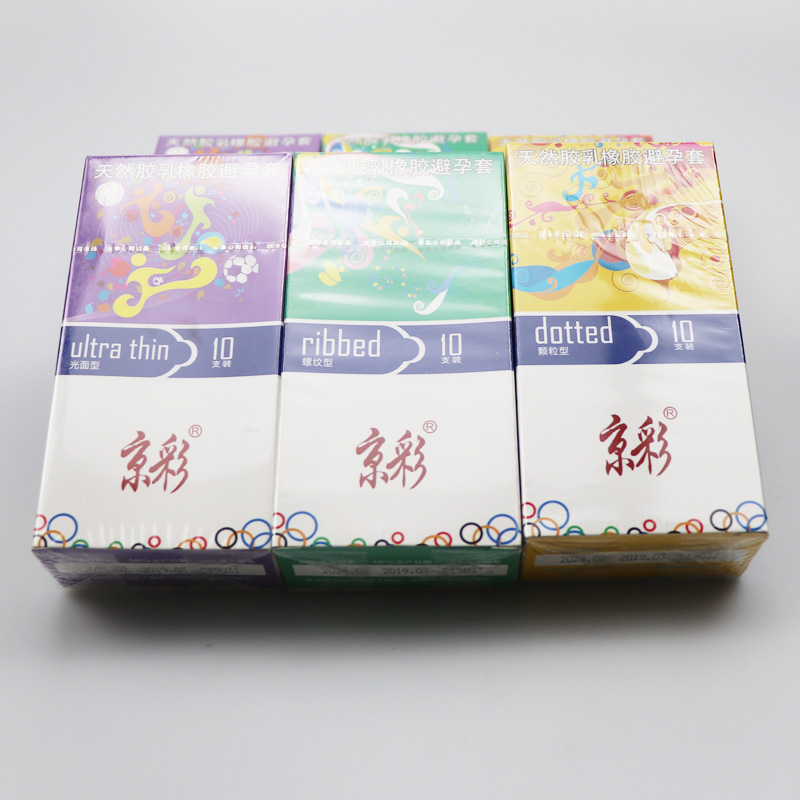 10pcs 3 Types Ultra Thin Condoms Sexy Latex Dots Pleasure Natural Rubber Condones Male Contraception Penis Sleeve Wholesale