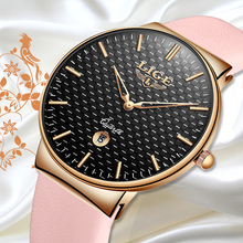 LIGE Elegant Woman Watches Luxury Brand Female Wristwatch Ja