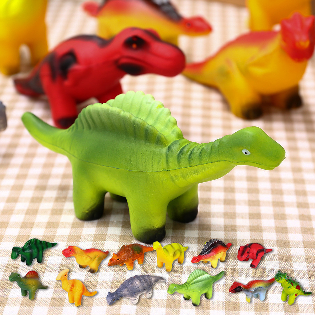 Squeeze Toys Slow Rising Cute Dinosaur Creamy Scent For Kids Party Toys Stress Reliever Toy Stretch Novelty Gift Squishy сквиши