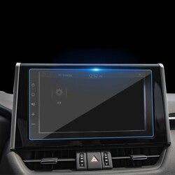 Аксессуары для Toyota RAV4 RAV 4 2019 2020 Автомобильный gps навигатор Закаленное стекло Защитная пленка для экрана стальная защитная пленка