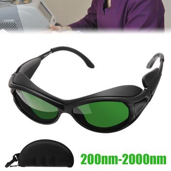 1pc 200nm-2000nm UV400 laser ipl gogle ochronne CE certyfikowane okulary ochronne dla zdrowia kosmetologii personel medyczny tanie i dobre opinie Części do narzędzi ręcznych CN (pochodzenie) IPL goggles