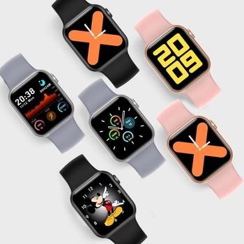 LEMFO Iwo mini PK DT100 PLUS W37 Smart Watch Men Women IP68 Waterproof Health Monitoring H13B Smartwatch 2021 For Apple Iwo W26 2