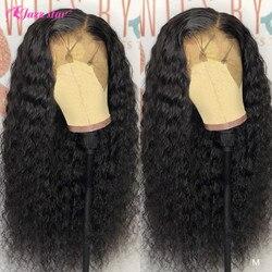 13x4 13x6 кружевные передние человеческие волосы парики предварительно выщипанные с волосами младенца бразильский глубокий волнистый парик ф...