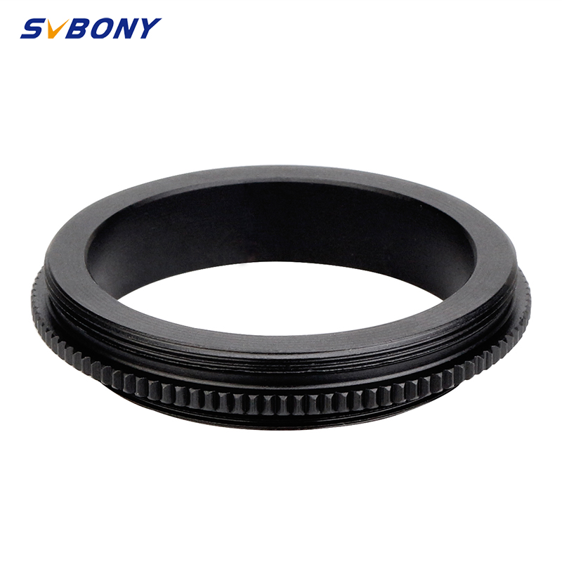 SVBONY SV130 <font><b>M48</b></font>*0.75 To M42*0.75 Telescope Mount <font><b>Adapter</b></font> attach M42 and <font><b>M48</b></font> together Astronomical Telescope <font><b>Adapter</b></font> W9100A image