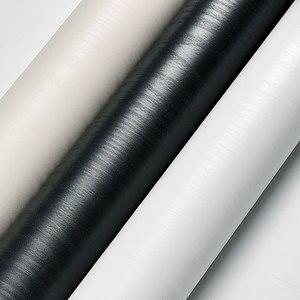 Image 5 - PVC עצמי דבק רהיטי טפט מדבקות עמיד למים מטבח ארונות ארון דלת עץ דקורטיבי בואינג סרט