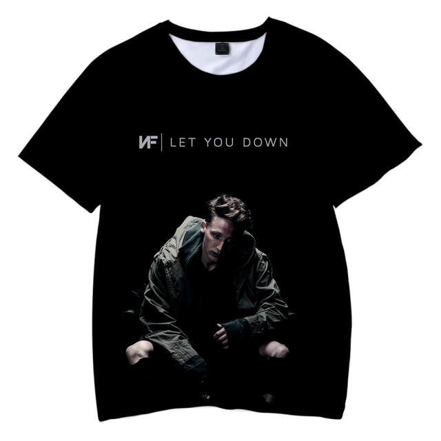 The Search NF 3D Print T Shirt  1