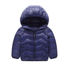 CYSINCOS Drop shipping  Children Autumn Cotton Outwear Infant Solid Inner Liner Baby Coat Warm Clothes Boys Padded Jacket