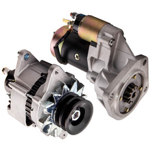 Alternator and Starter Motor For Nissan GQ Patrol Y60 TD42 4.2L diesel 1988-1997