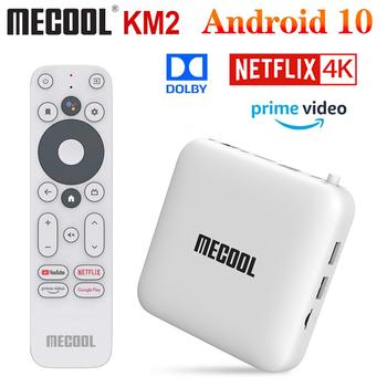 Mecool KM2 2GB 8GB Android 10 0 Google certyfikat TV pudełko procesor Amlogic S905X2 KM3 4GB 64GB KM9 Pro 2G 16G 4GB 32GB 4K zestaw Wifi Top Box tanie i dobre opinie 100 M CN (pochodzenie) 8 GB eMMC 16 GB eMMC 32 GB eMMC 64 GB eMMC Brak 2G DDR3 4G DDR3 Mecool KM3 ATV KM9 Pro KM2 0 65KG