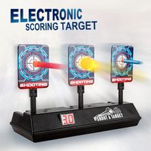 Akıllı otomatik sıfırlama elektronik puanlama hedef Nerf n-strike Elite/Mega/rakip serisi ses puanlama hedef