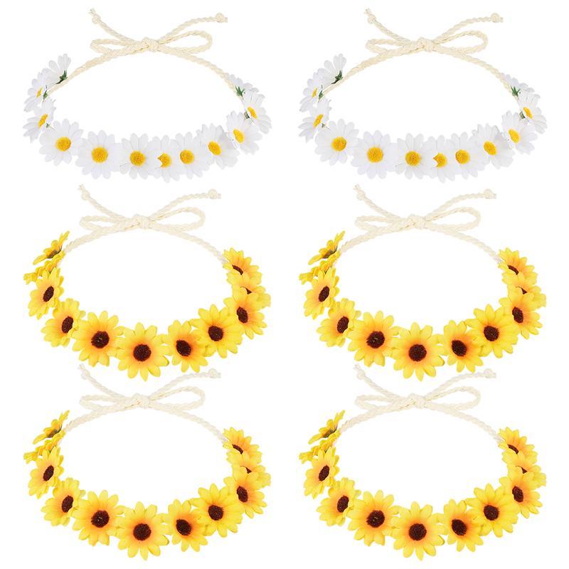 Cute Dainty White DAISY Daisies Wedding Flower Clog Shoe Charm Charms