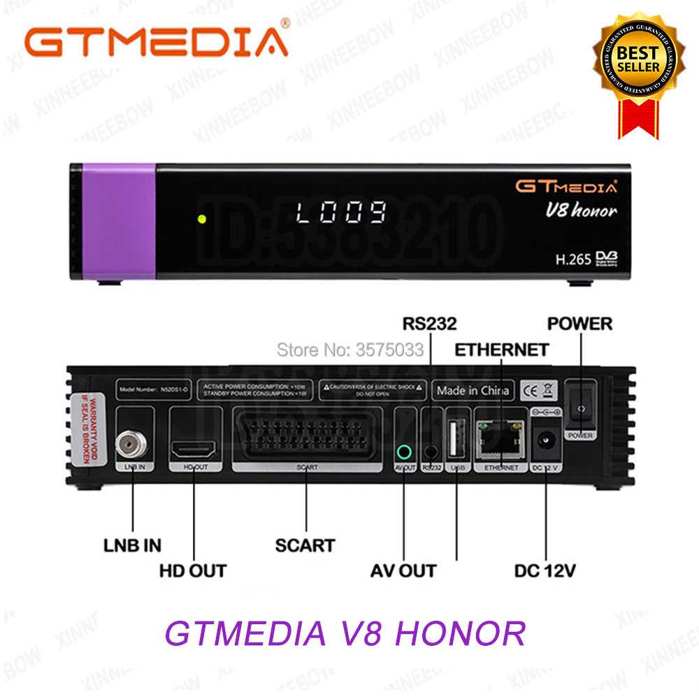 Originale Gtmedia V8 Nova built-in WIFI Aggiornato Gtmedia V8X DVB-S2 H.265 Stesso come GTmedia V9 Super Nessun app