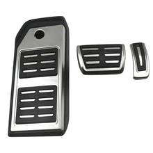 Pedal for Volkswagen TOUAREG 2019 2020 LHD AT Footrest Accelerator brake Plate VW Car Accessories  Stainless Steel