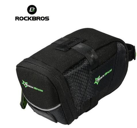 ROCKBROS Bicycle Bag With Lid Folding Bike Saddle For A Nylon Cycling Rear Seatpost Tail Pouch MTB Accessories