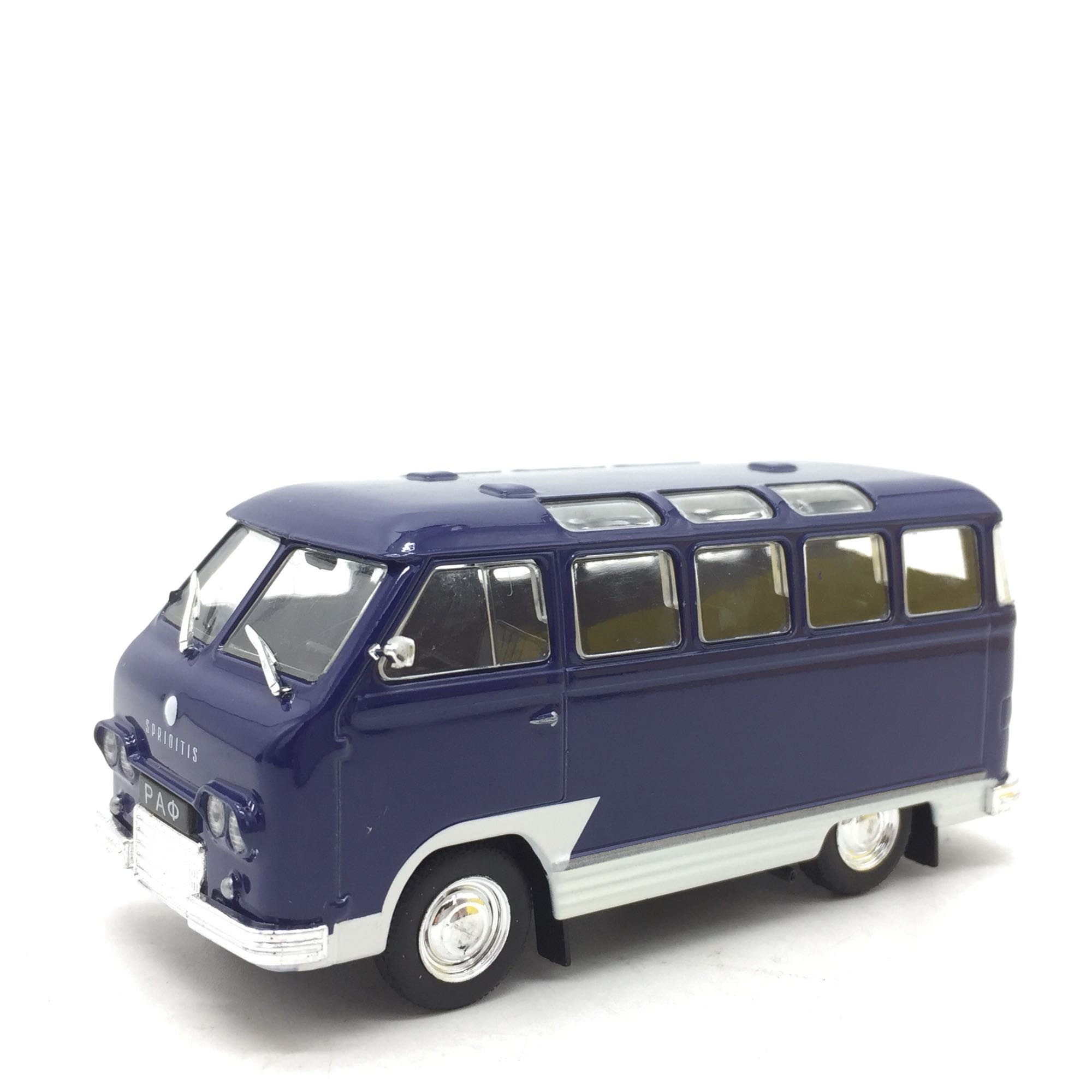 Hot Selling 1: 43 Soviet Minibus Alloy Car Model Decoration Model Toy For Gift