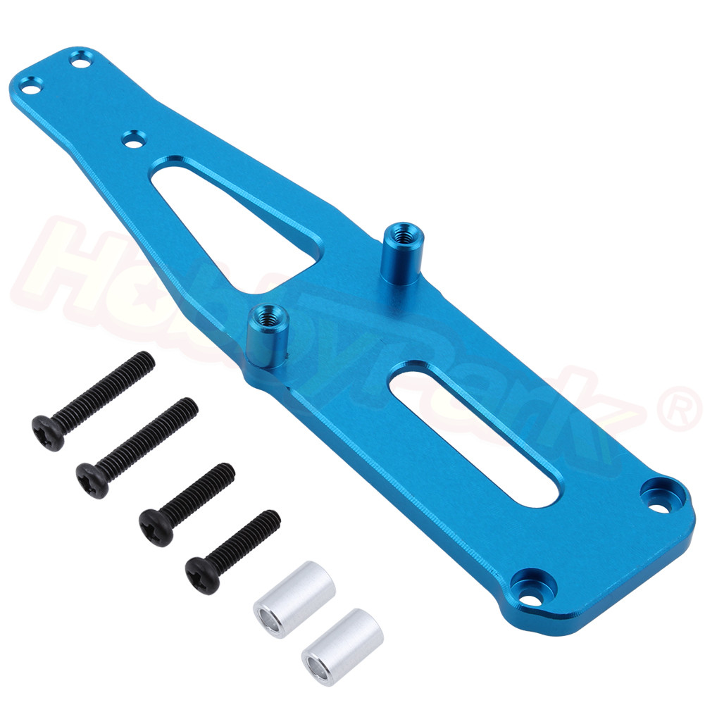 Aluminum Shock Tower 0008 For <font><b>WLtoys</b></font> <font><b>12428</b></font> 12423 1/12 Scale RC Car Crawler Truck Short Course Upgrade Parts Spare Accessories image