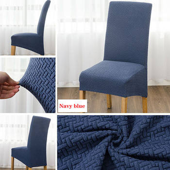 2020 High Stretch Jacquard XL Size Chair Cover Elastic Chair Covers Spandex For Dining Room Kitchen