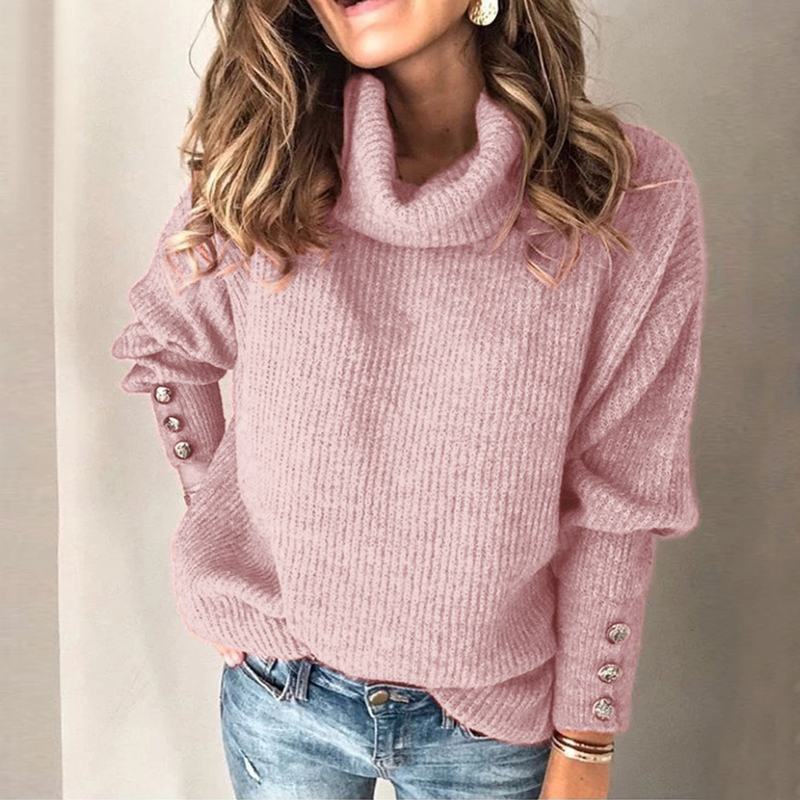 Turtleneck Sweater Pullovers Elasticity Slim Soft Women Knitted Femme Casual Fashion Long Sleeve 2019 Autumn Spring Sweaters
