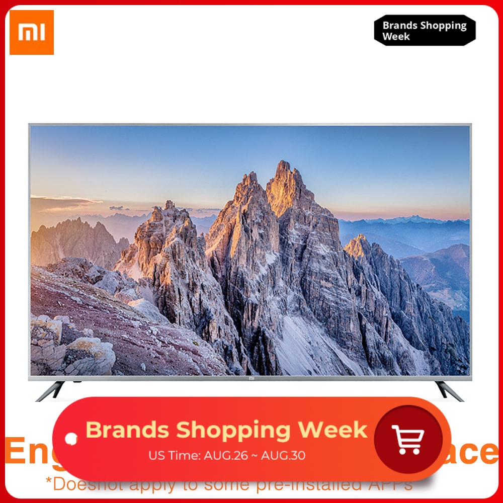 Xiaomi Voice-Control Speaker Dolby Smart-Tv Built-In-Xiaoai 58-Inches 4K 8GB HDR 2GB