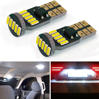 2pcs T10 W5W 168 194 LED Bulb Canbus Clearance Side Marker Lights For BMW E46 E39 E90 E60 E36 F30 F10 E30 E34 X5 E53 M F20 X3 X6 image