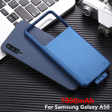 7000mAh Magnetic Battery Cases For Samsung Galaxy A50 Power Case External Bank Cover for Charging