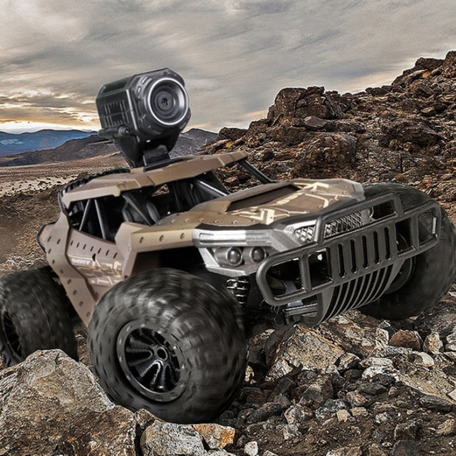 RC Car Climbing Car Double Motors Drive Bigfoot Car Remote Control Model Off-Road Vehicle Oys for Boys Kids 4