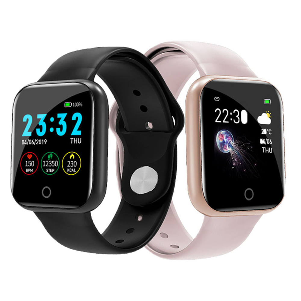 I5 Smart Watch Pedometer Women Men Smartwatch Heart Rate Sport Fitness Tracker IP67 Waterproof Fitness Bracelet Tracker Band